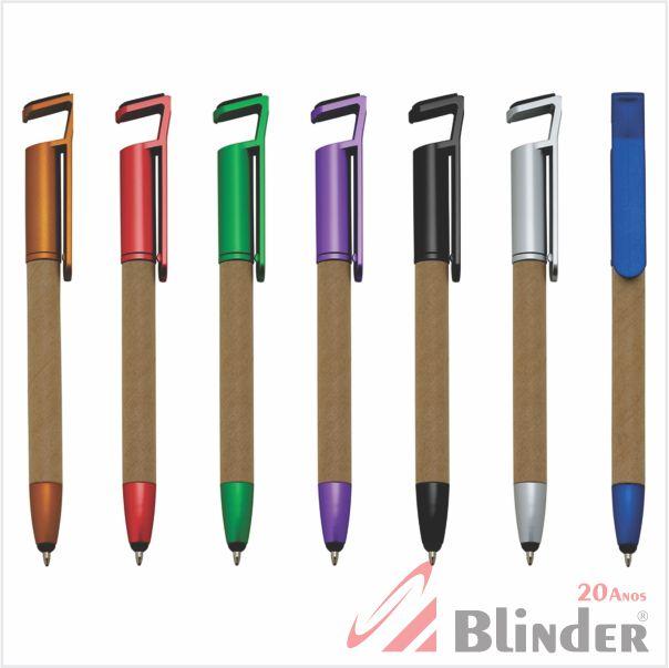 caneta Touch Bambu com suporte pra celular