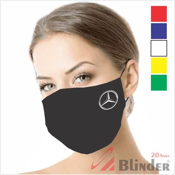 Mascaras Reutilizável Algodão com Gravação