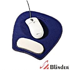 Mouse pad em couro legítimo.