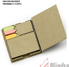 Bloco de Anotações com post it