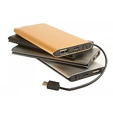 Carregador portátil Power Bank Slim ultrafino Kima