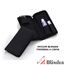Kit Higiene com 04 Divisões internas e zipper.