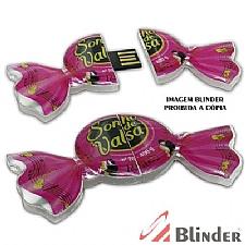 PEN DRIVE FORMATO ESPECIAL C/ CAPACIDADE DE 4GB.