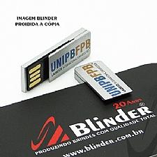 PEN DRIVE MARCADOR DE LIVRO COM CAPACIDADE DE 4GB.