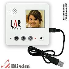 Imã de geladeira com gravador de vídeo digital