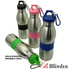 Cantil de 500ML Metal  C/ Det. Borrachado